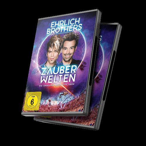 DVD: ZAUBERWELTEN - Die einmalige Magie Live Show